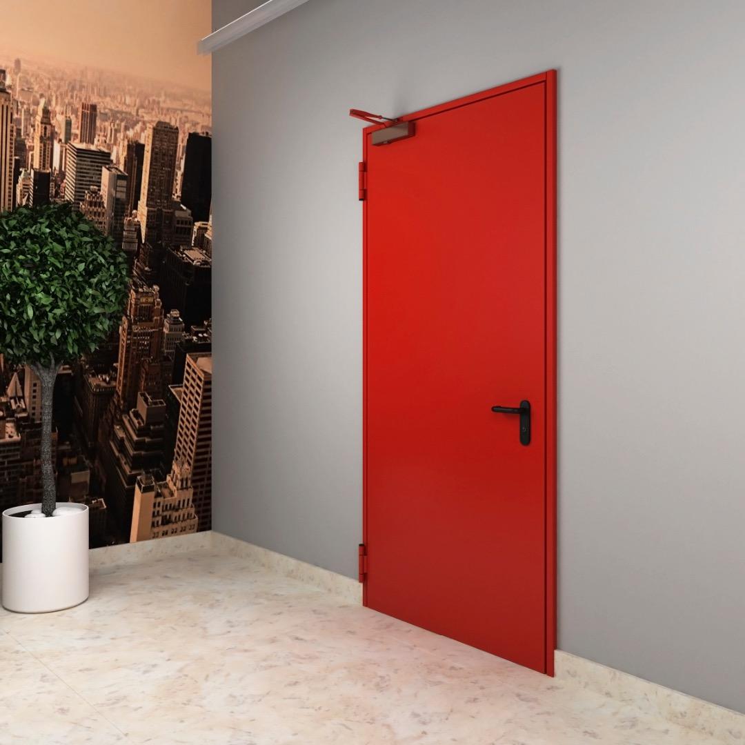 Противопожарные деревянные двери - фото № 2
